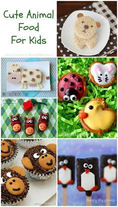 Cute Animal-Themed Food For Kids #CuteFood