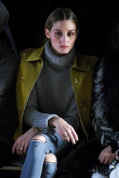 Olivia Palermo Photos - Dennis Basso - Backstage - Fall 2016 New York Fashion Week: The Shows - Zimbio
