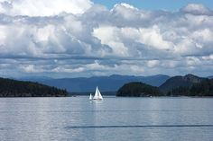 """""""Sailing in the San Juan's"""" by Carol Groenen #carolgroenen #landscapes #pacificnorthwest"""