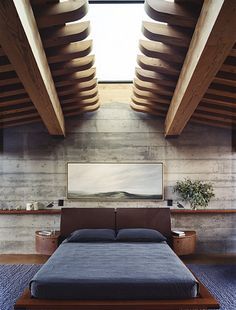♂ Masculine and contemporary bedroom interior design Image by Simon Watson