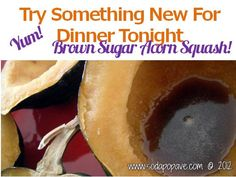 Brown Sugar Acorn Squash Recipe