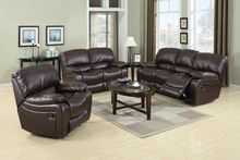 Sierra Collection Reclining Sofa and Loveseat Set GT6000-WIINE-SET