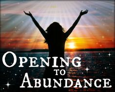 "I've had so many requests that I am delighted to be able to say: ""Back by popular demand!!"" Whoop!  For this year only I shall be offering second run of my Soul Shaking, 3 month-long, Live online coaching programme, 'Opening To Abundance'. I would be delighted to have you with us when we kick off on 4th of July 2013!  Click the pic for full details x"
