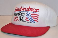 Budweiser Beer Official Vintage 1994 World Cup USA Soccer Team Snapback Hat Usa Soccer Team, Hats For Sale, Snapback Hats, World Cup, Baseball Cap, Beer, Vintage, Baseball Hat, Root Beer