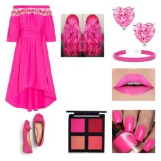 """""""Pink Equation"""" by melody-marvell on Polyvore featuring Peter Pilotto, Talbots and Kenneth Jay Lane"""
