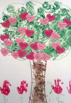 Preschool Family Tree project.