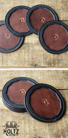 Give your wedding party a gift they will never forget! Featuring their last initial, The Tavern Fine Leather Coaster makes an everlasting memento from your wedding! This leather coaster will withstand the test of time!