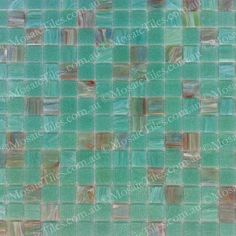 MosaicTiles.com.au - Malibu Green GM 20.35, SM 20 Glass Mosaic Tiles, Mosaic Art, Vtc, Green, Commercial, Home Decor, Beautiful, Decoration Home, Room Decor