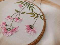Rose & Tulip Garland - Blackberry Lane Brazilian Embroidery EdMar thread packet only - Embroidery Design Guide Bullion Embroidery, Garden Embroidery, Brazilian Embroidery Stitches, Hand Embroidery Projects, Embroidery Bags, Silk Ribbon Embroidery, Hand Embroidery Patterns, Embroidery Techniques, Cross Stitch Embroidery