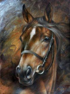 peinture chevaux wallpaper - photo #15
