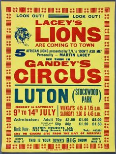Look Out! Lacey's Lions are coming to Luton.    via @rosegridneff