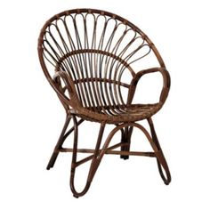 Gorgeous rattan chair!