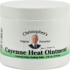 Dr. Christophers Cayenne Heat Ointment - 4 fl oz