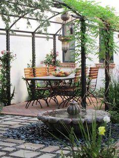 plante grimpante pour ombre de terrasse et pergola d'extérieur