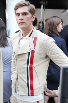 hello jacket!!!! Tommy Hilfiger S/S'13.