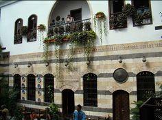 Hotel in Shahbandar, Damascus, Syria.