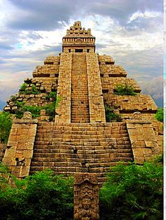 Aztec Ruins . Mexico