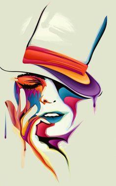 Women Mobile Wallpaper - ID 13587 Art Painting Gallery, Art Paintings, Abstract Face Art, Painting Abstract, Japon Illustration, Popular Art, Arte Pop, Art Drawings Sketches, Mobile Wallpaper