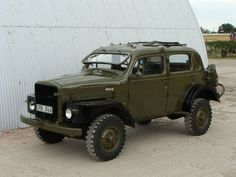 1957 VOLVO TP21 SUGGA from Swedish Army. I have fallen in love.