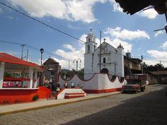 Iglesia y Kiosco, San Andrés de Los Gama, Estado de México