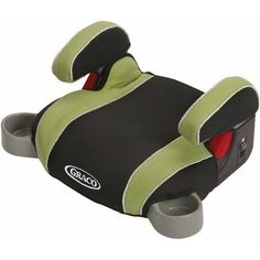 Graco Backless TurboBooster Booster Car Seat, Go Green