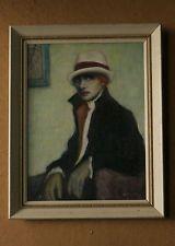 Vintage art deco lady painting sinned Arturo Noci N.Y. Vintage Paintings, Vintage Art, Art Deco, Lady, Vintage Pictures, Art Decor