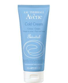 Avène Pediatril Cold Cream, nutre e protege a pele do bebé, diariamente, com toda a segurança. Sem parabenos, sem perfume, sem corantes, sem álcool.