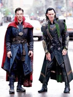Dr Strange and Loki