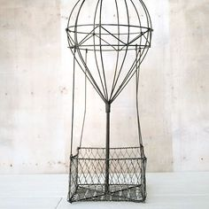 Wire Form Hot Air Balloon Basket - Stampington