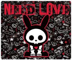 Tapis de souris Skelanimals Jack needs love