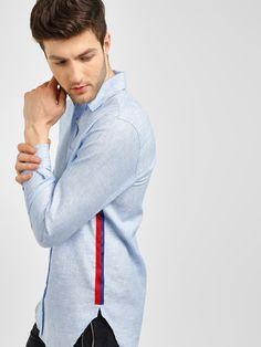 Discover & Shop Latest Fashion for Women & Men Online! Formal Shirts For Men, Casual Shirts, Shirt Collar Styles, African Shirts For Men, Tartan Shirt, Mens Designer Shirts, White Shirt Men, Polo T Shirts, Knit Shirt