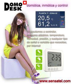 Control Temperatura y Humedad http://www.sensatel.com