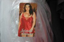 Womens 3X Red Babydoll Night Gown