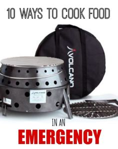 10 Ways to Cook Food in an Emergency
