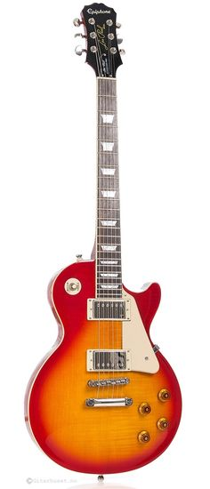 Epiphone Les Paul Standard Plus Top Pro, Heritage Cherry Sunburst #epiphone #guitar