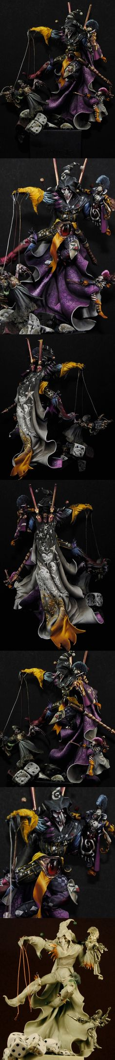 This is a pretty awesome Warhammer 40,000 painting and sculpting job.