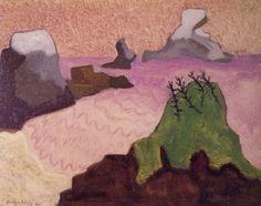 Oregon Coast, Milton Avery 1947
