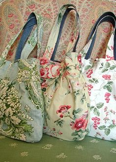 3 romantic bags by Marcela Alves, via Flickr
