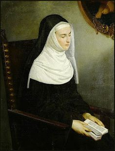 "St. Teresa of Avila - ""To persist in prayer without returns, this is not time lost, but a great gain. It is endeavor without thought of self and only for the glory of God."" ~ The Cloistered Heart"
