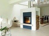 Αποτελέσματα εικόνων για double sided fire places