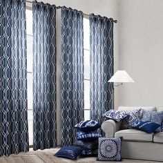 Cheap Curtains, Buy Directly from China Suppliers:    Blue Ikat Cushion Cover Decorative Pillows Case Cushions Home Decor Pillow Cover Home Textile Free ShippingUS