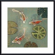 Aleah Koury 'Floating Motion II' Framed Art Print