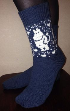 Hippo socks Cozy and warm home and bed socks. Bed Socks, Knitting Socks, Knit Socks, Baby Leggings, Moomin, Winter Springs, Fall Winter, Autumn, Mittens