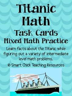 math worksheet : 1000 images about titanic on pinterest  edward smith unit  : Famous Ocean Liner Math Worksheet Answers