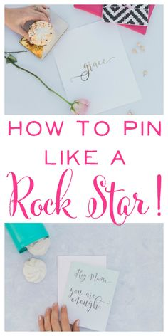 Pinterest Tips. How to Pin like a Rock Star! Great ideas for getting your pins discovered more often on Pinterest! | brilliantbusinessmoms.com