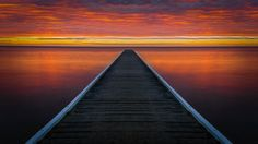 This is a photo of a sunrise in Rosebud, Victoria, Australia. Different crop of the previous pict...