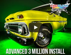LEDGlow's Advanced 3 Million Wireless USB Truck Underbody Light Kit includes 6 multi-colored tubes that create a customizable underbody lighting. Led Lights For Trucks, White Motorcycle, Led Light Kits, Led Headlights, Chevy Trucks, Usb, Technology, Lighting, Create