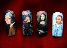 Actual nail ART