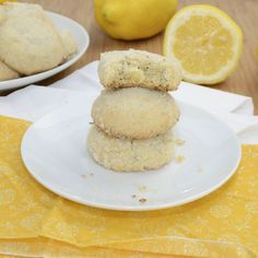 Lemon Poppy Seed Sugar Cookies