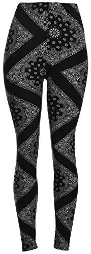 PLUS SIZE High Quality Printed Leggings (Black White Paisley Diamond) VIV Collection http://www.amazon.com/dp/B01866LCK6/ref=cm_sw_r_pi_dp_VUS2wb0NQTHV1